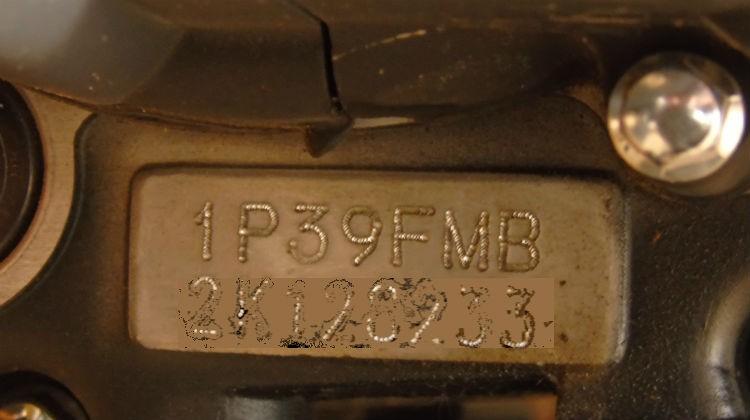 Маркировка двигателя Альфа RX