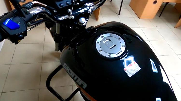 Бак мопеда Сигма 12 литров