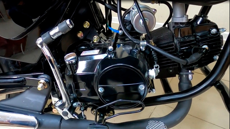 Двигатель мопеда сигма